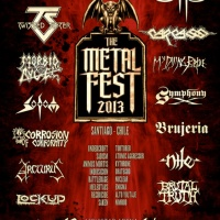 Metal Fest 2013 - Santiago, Chile:  Day 1