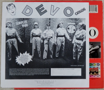 Devo: Freedom of Choice (inner sleeve - back)