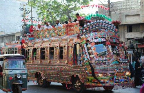 Karachi bus