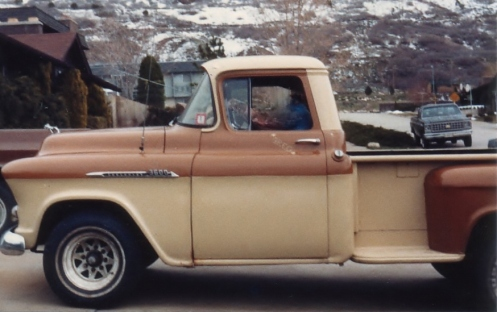 "My 1956 Chevy 3600 3/4 Ton Pickup - ""Bad '56"""