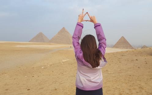 Giza Pyramids, December 2015