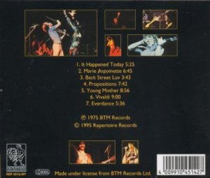 Curved Air Live (back)