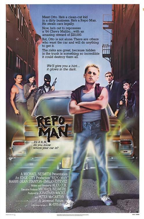 Repo Man (movie poster)